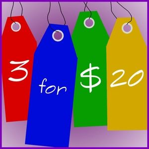 Other - SALE 3 for $20 SALE